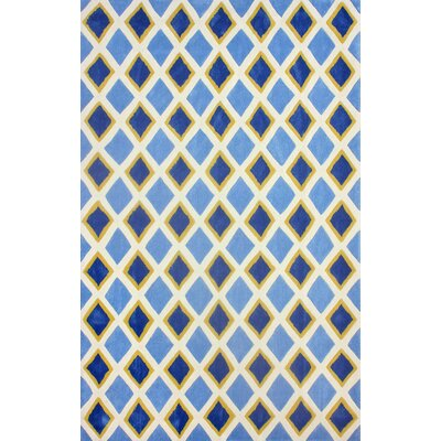 Cine Light Blue Colin Area Rug Rug Size: 76 x 96