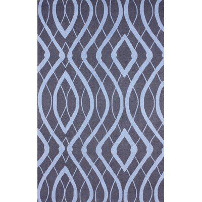 Barcelona Purplish Navy Lee Area Rug Rug Size: 5 x 8