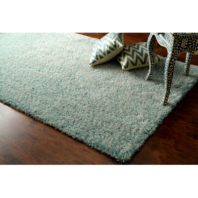 Glamour Hand-Tufted Green Area Rug Rug Size: Rectangle 5 x 8