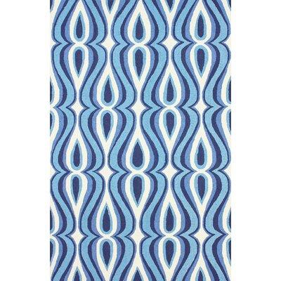Uzbek Blue Luciano Rug Rug Size: 5 x 8
