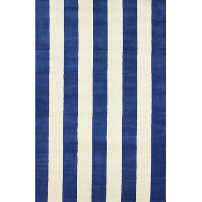 San Miguel Blue Dasher Rug Rug Size: Rectangle 5 x 8