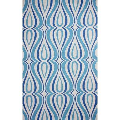 Uzbek Light Blue Luciano Area Rug Rug Size: 5 x 8
