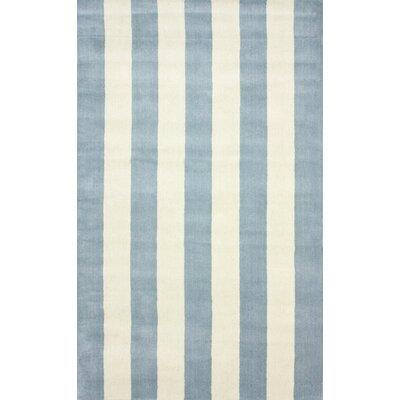 San Miguel Dusk Blue Dasher Rug Rug Size: 5 x 8
