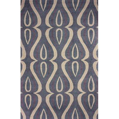 Uzbek Slate Luciano Area Rug Rug Size: 76 x 96