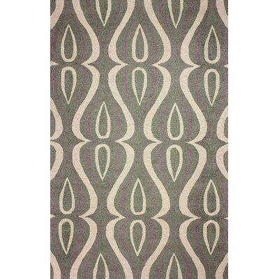 Uzbek Green Luciano Rug Rug Size: Rectangle 5 x 8