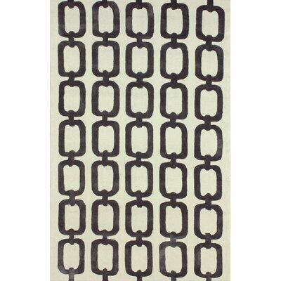 Santa Fe Grey ilili Indoor/Outdoor Area Rug Rug Size: 5 x 8