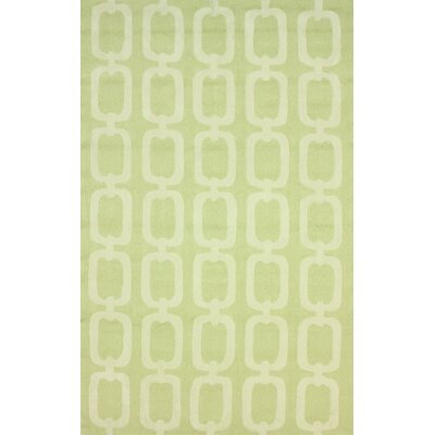 Santa Fe Light Green ilili Indoor/Outdoor Area Rug Rug Size: 5 x 8