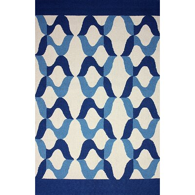 Novel Aldo Blue Indoor/Outdoor Area Rug Rug Size: Rectangle 7'6