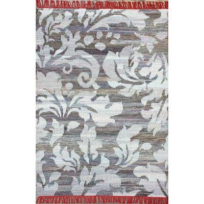 Modella Etqua Flat Woven Gray Area Rug Rug Size: 5 x 8