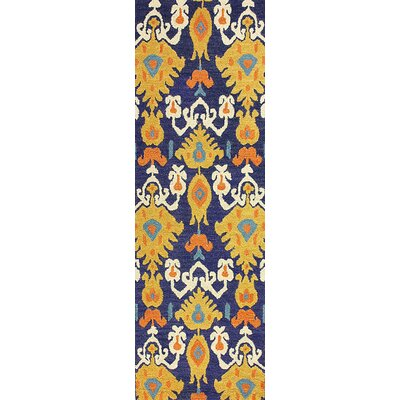 San Miguel Trista Ikat Area Rug Rug Size: Runner 26 x 8