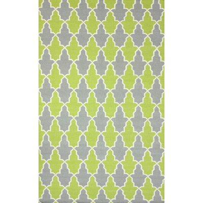 Remade Green Trina Rug Rug Size: 76 x 96
