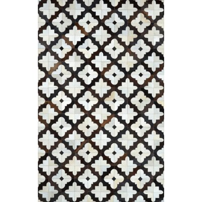 Lumen Charcoal Radash Rug Rug Size: 5' x 8'