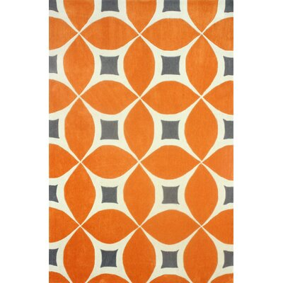 nuLOOM Barcelona Deep Orange Gabriela Area Rug - Rug Size: 4' x 6' at Sears.com