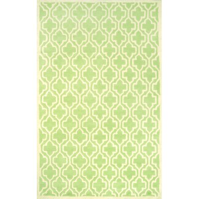 Venice Green Vesemy Rug Rug Size: 76 x 96