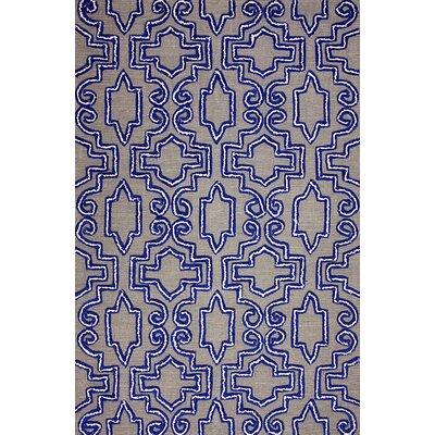 Europe Blue Casey Indoor/Outdoor Area Rug Rug Size: 5 x 8