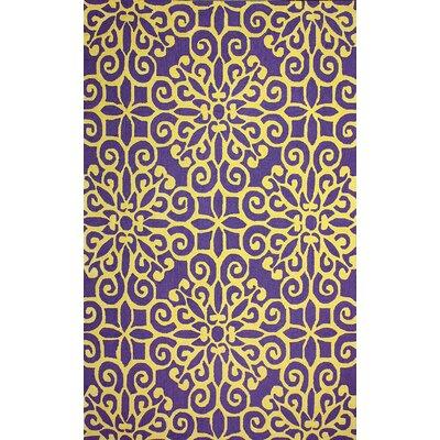 Vista Purple Lahoma Rug Rug Size: 7'6