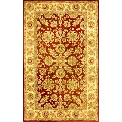 Legacy Gold Mirage Rug Rug Size: 5 x 8