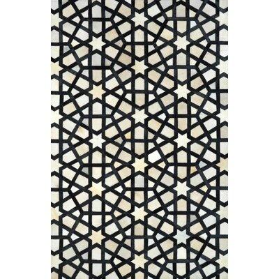 Lumen Black Kimaugh Rug Rug Size: 5 x 8