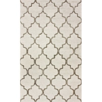 nuLOOM Hacienda Park Avenue Trellis Nickel Geometric Area Rug - Rug Size: 4' x 6' at Sears.com