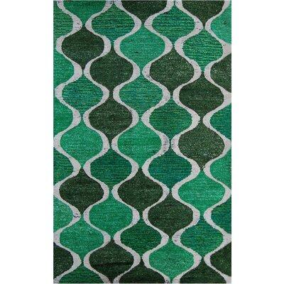 Modella Green Rharan Rug Rug Size: 5 x 8
