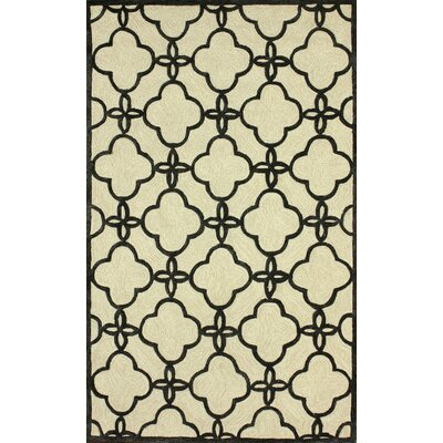 Santa Fe Sand Sasha Indoor/Outdoor Area Rug Rug Size: Rectangle 76 x 96