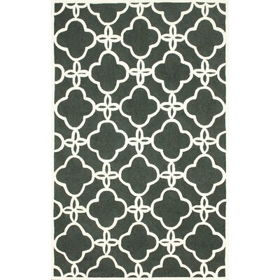 Santa Fe Ash Sasha Indoor/Outdoor Area Rug Rug Size: 7'6
