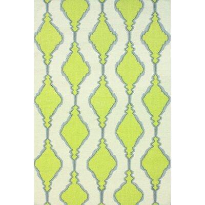 Endura Green Area Rug Rug Size: 86 x 116