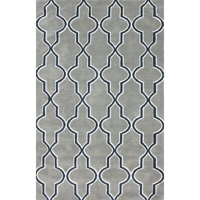 Block Island Gray Area Rug Rug Size: 5 x 8
