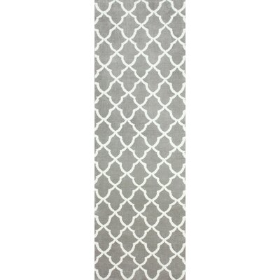 Block Island Grey Gustav Faux Area Rug Rug Size: Rectangle 3 x 6
