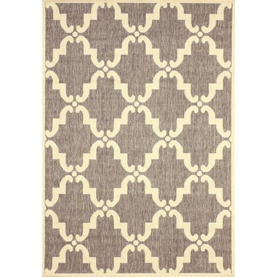 Dawn Gray/Ivory Indoor/Outdoor Area Rug Rug Size: Rectangle 911 x 14