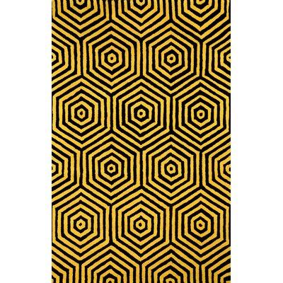 Europe Gold Pamela Rug Rug Size: 76 x 96