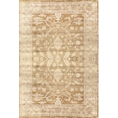 Overdyed Beige Swebel Rug Rug Size: Rectangle 6 x 9