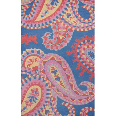 Venice Blue Paula Rug Rug Size: Rectangle 5 x 8