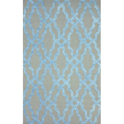 Brilliance Blue Samuel Rug Rug Size: 5 x 8