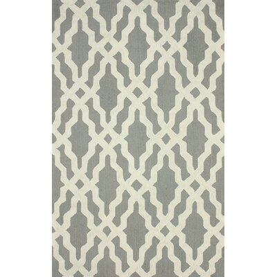 Brilliance Grey Samuel Rug Rug Size: 76 x 96