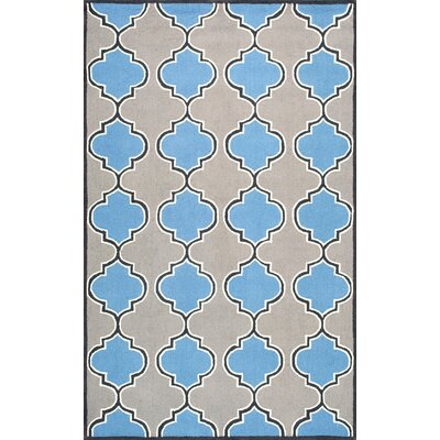 Soraka Blue Area Rug Rug Size: Rectangle 5 x 8