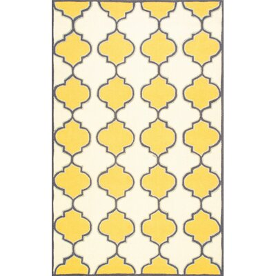 Soraka Gold Area Rug Rug Size: Rectangle 5 x 8