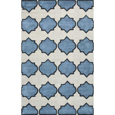 Skarner Blue Area Rug Rug Size: 5 x 8