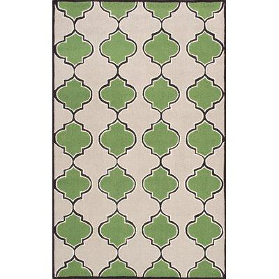 Soraka Green Area Rug Rug Size: 5 x 8