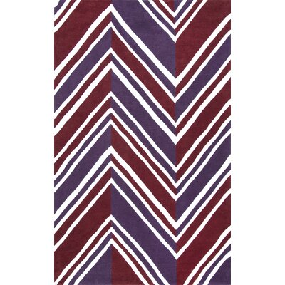 Fizz Mauve Area Rug Rug Size: 76 x 96