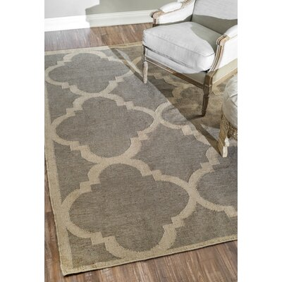 Bevon Hand-Flat Woven Gray Area Rug Rug Size: Rectangle 4 x 6