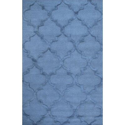 Koshney Hand-Tufted Denim Area Rug Rug Size: 5 x 8