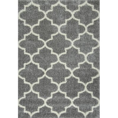 Zalacain Gray Area Rug Rug Size: Rectangle 4 x 6