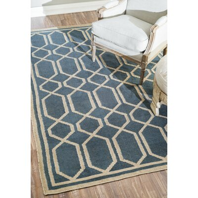 Icarius Blue Area Rug Rug Size: Rectangle 5 x 8