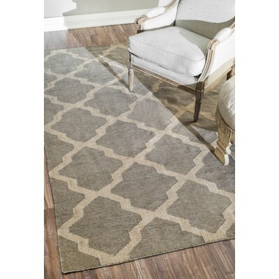 Loucelles Gray Area Rug Rug Size: Rectangle 76 x 96