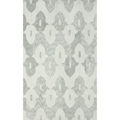 Brilliance Light Grey Roxanna Area Rug Rug Size: 5 x 8