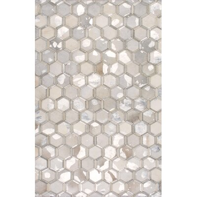 Michelet Gray Area Rug Rug Size: 9 x 12