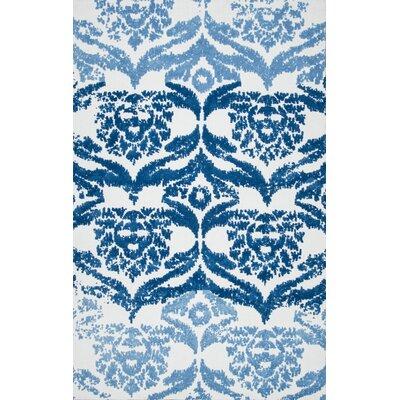 Vanesa Blue Area Rug Rug Size: 5 x 8