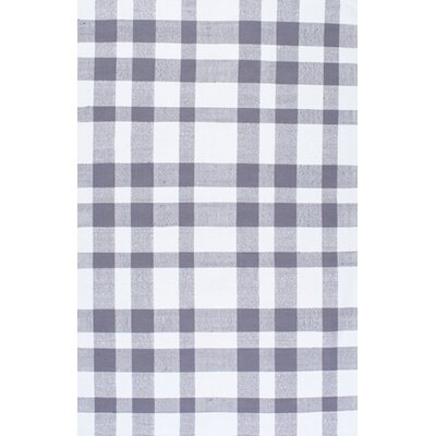 Benny Grey Area Rug Rug Size: 8 x 10