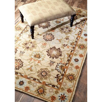 Block Island Ashton Tan Area Rug Rug Size: 5 x 8